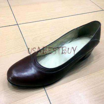 New Handmade Women Simple Pumps wit..