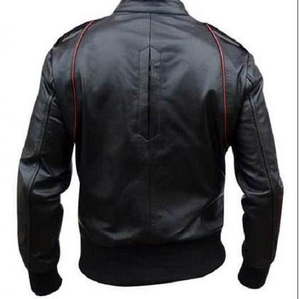 Handmade Custom New Men Black With ..