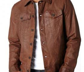 Handmade Men Brown V..