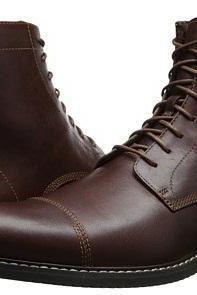 New Handmade Mens ANKLE HIGH OXFORD LACE UP BOOTS, MEN BOOT, Men Leather Boot