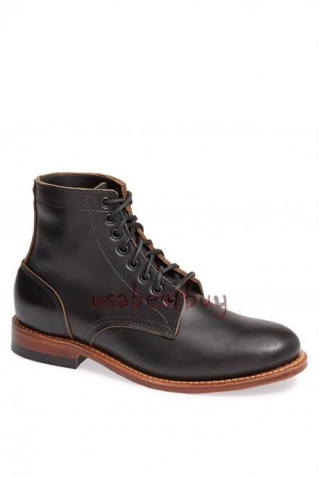 da2fa8b9b106 New Handmade Chukka Latest Style Genuine Leather Boots