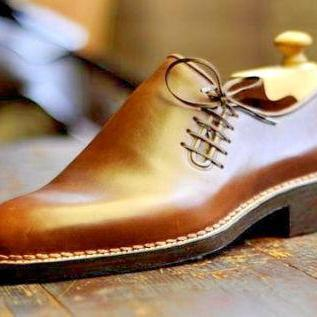 New Handmade Men Simle Classic Modern Leather Shoes, Men Dress Shoes, Formal Shoes