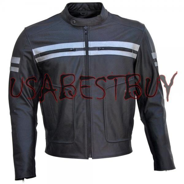 Handmade New Men Stylish Lining Biker Motorcycle Leather Jacket, men leather jacket, Leather jacket for men, Biker Leather Jacket